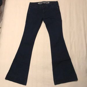 Women's EXPRESS flare jeans